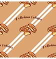 Eclairs Seamless Pattern vector image vector image