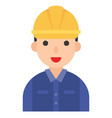 electrician icon profession and job vector image vector image