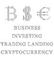 halftoneset of symbols for businessbitcoineuro vector image