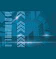 blue industrial modern background vector image