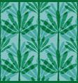 banana tree seamless pattern vector image vector image