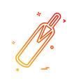 cricket icon design vector image vector image