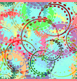 seamless texture of pastel gears and laurel vector image vector image