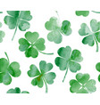 st patrick s day seamless pattern vector image vector image