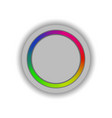 The button of the regulator of color scale