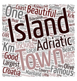Yacht Charter in Croatia text background wordcloud vector image vector image