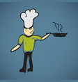 cook vector image vector image