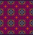 ethnic pattern for fabric abstract geometric vector image vector image