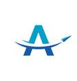 paper airplane travel logo design inspration vector image vector image