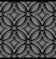 seamless background volumetric pattern from lines vector image