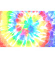 tie dye spiral shibori colorful watercolour vector image