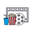 film set objects icon vector image vector image