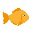 fish marine animal vector image