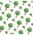 nature tree leaves with stalk background vector image