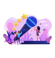 popular music concept vector image