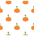 Pumpkin icon cartoon Single plant icon from the vector image