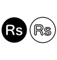 rupee currency symbol icon