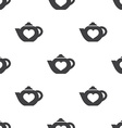 teapot seamless pattern vector image