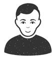 User Grainy Texture Icon vector image vector image