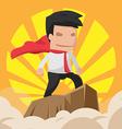 Man Hero Worker Power Business vector image