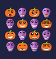 emoji emoticon expression vector image vector image