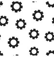 gear cog wheel icon seamless pattern background vector image vector image