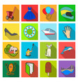 holiday textiles industry and other web icon in vector image vector image