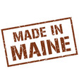 made in maine stamp vector image vector image