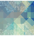 pattern of geometric shapes vector image