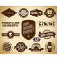 Vintage labels Collection 15 vector image vector image