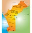Cabinda vector image vector image