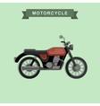 classic bike vector image vector image