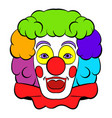clown icon icon cartoon vector image vector image