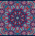ethnic festive abstract floral pattern vector image vector image