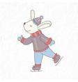 funny rabbit nursery art minimalist scandinavian