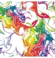 Seamless Background Colorful Stains of Paint vector image vector image
