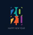 2021 brochure or calendar cover design template vector image vector image