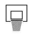 basketball backboard net icon design vector image