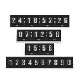countdown timer set mechanical device for vector image vector image