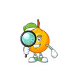 detective fresh nutmeg cartoon for recipe food vector image vector image
