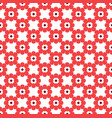 floral tiles seamless patternflower geometric vector image