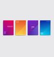 Minimal covers design colorful halftone