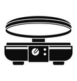 modern waffle maker icon simple style vector image vector image
