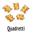 quadretti icon cartoon style vector image vector image