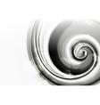 White Spiral vector image