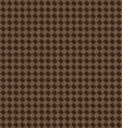 diagonal brown beige seamless fabric texture vector image vector image