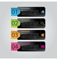 Modern Abstract Infographic vector image