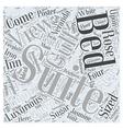 Sugar Beach Inn Word Cloud Concept vector image vector image