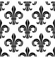 Victorian royal fleur-de-lis seamless pattern vector image vector image