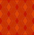 Abstract geometric pattern with lines on orange